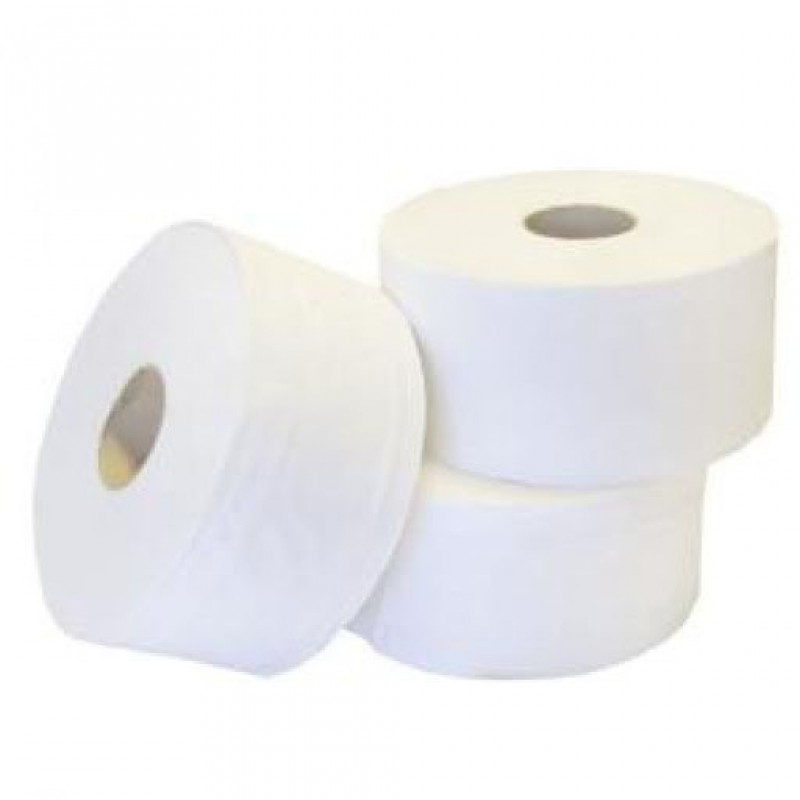 PAPIER WC BIG-ROLL BLANC 2 COUCHES OUATES